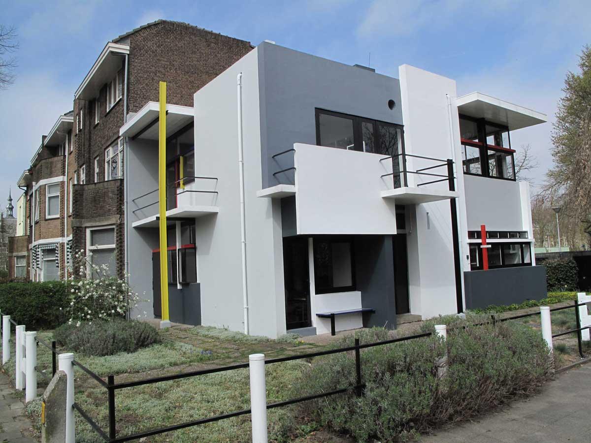 Rietveld schr der house paramount styles - Stijl des maisons ...