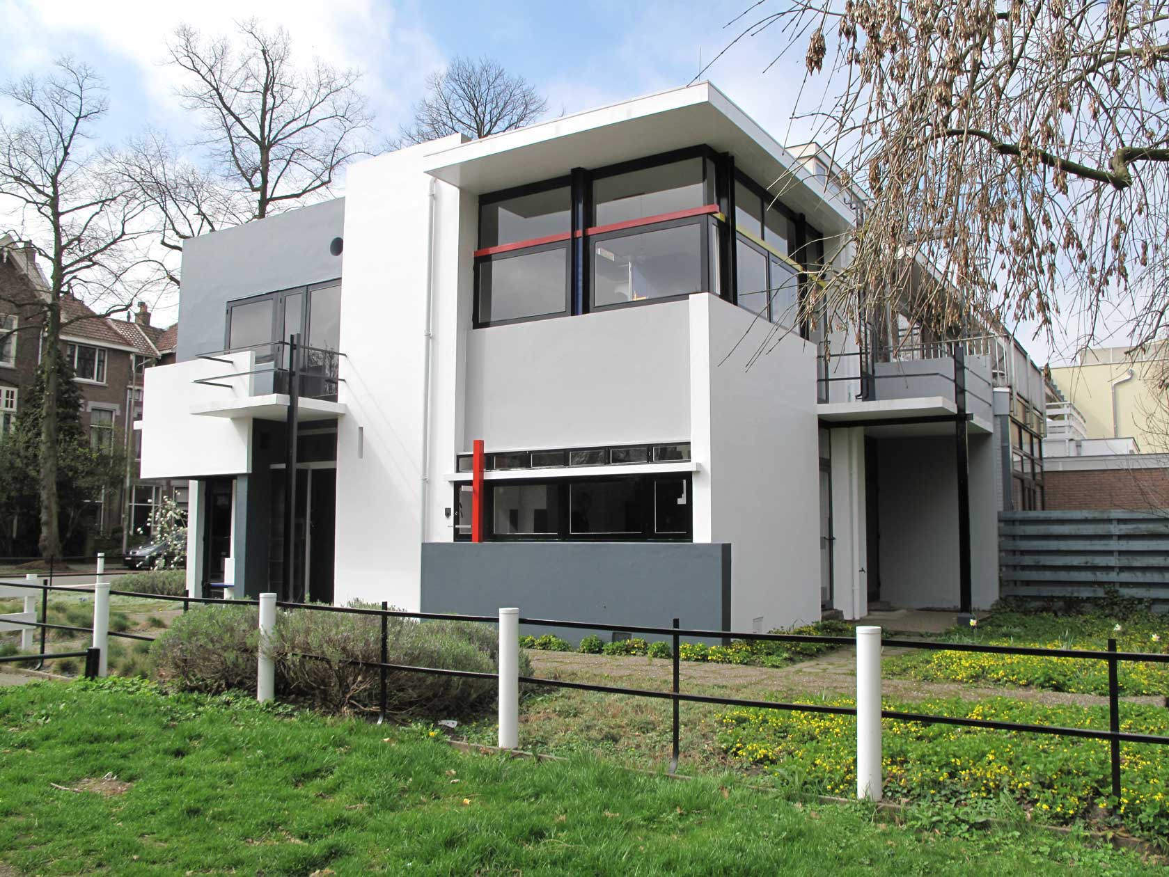 Rietveld schr der house paramount styles for House architect